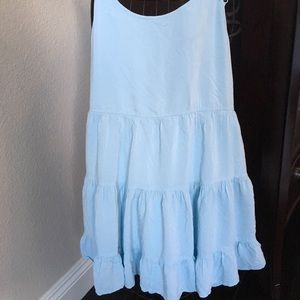 "💕 Brandy Melville Jada baby blue "" Talula"" dress"